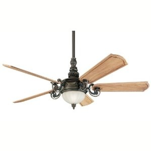 Amazon $558 Kichler Lighting 300101OLZ Highland Manor 56-Inch Ceiling Fan with Cherry Wood Blade, Oiled Bronze
