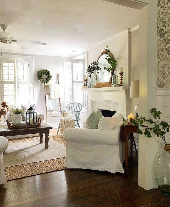 45 Top Tips Of Fixer Upper Living Room Ideas Rustic Farmhouse