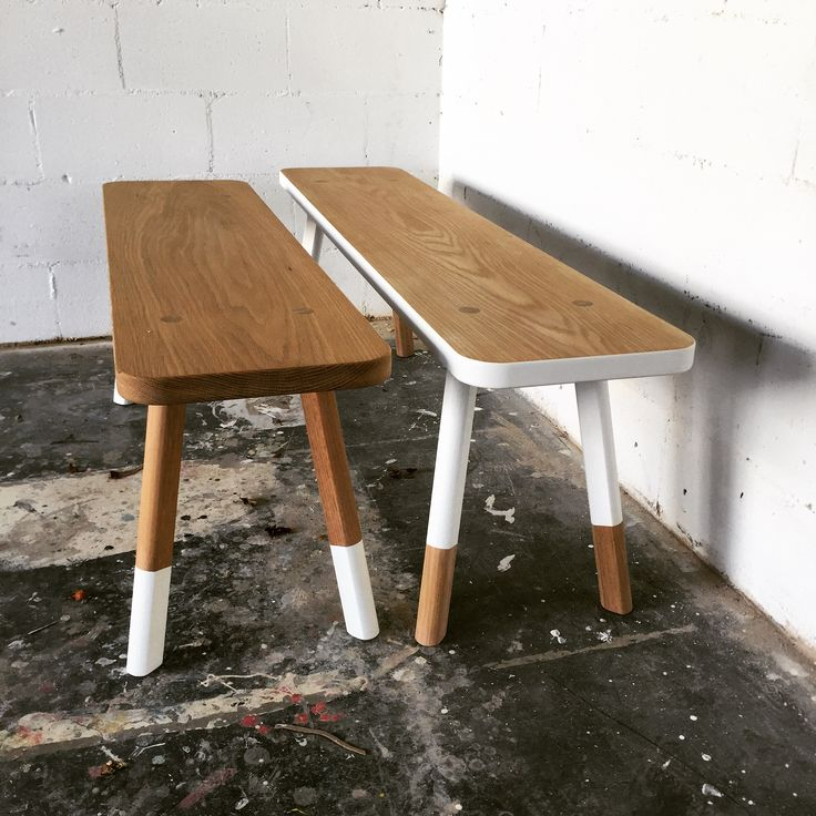 Babanees benches by Green Cathedral Seating, stools, timber bench