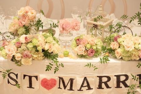 夏の装花 日比谷パレス様へ と軽井沢で単発アシスタント募集のお知らせ メインテーブル装花