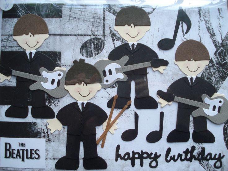 The 25 best Happy birthday beatles ideas – Beatles Birthday Cards