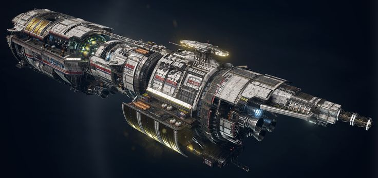 "ArtStation - USR ""Pioneer"" polish pass - Fractured Space, Hans Palm"