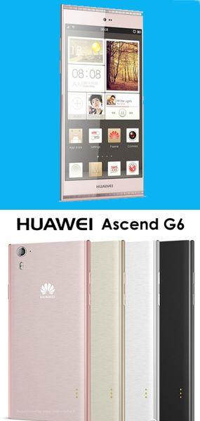 Huawei Ascend G6 es un bonito teléfono color blanco, potente y eficiente. #Celulares #Huawei #TuGadgetShop. http://www.tugadgetshop.com/celulares/huawei/huawei-ascend-g6-3g-blanco_281.html