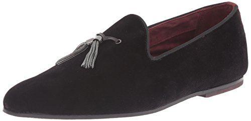 Ted Baker Men's Thrysa Tuxedo Loafer, Black, 11 M US