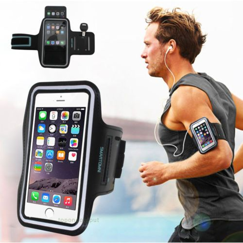 Gym Running Sports Armband Phone Case Cover Holder For iPhone Samsung LG HTC | eBay