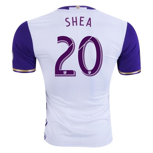 Orlando City SC SHEA Authentic Away Soccer Jersey