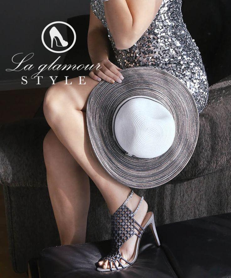 UPV Sun Hat https://www.laglamourstyle.com/product/metallic-silver-sun-hat/