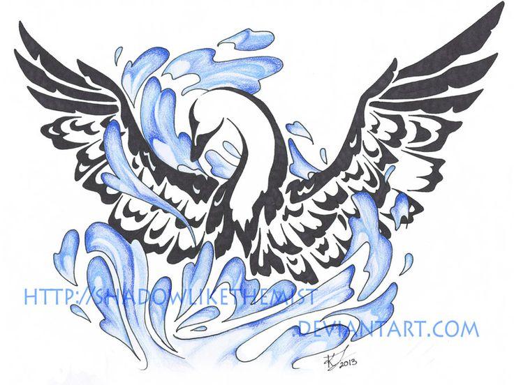 swan-art-tattoo.jpg 900×676 pixels