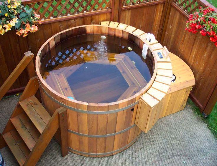 diseo e instalacin de tinas de agua o baeras ofurs y spas de madera