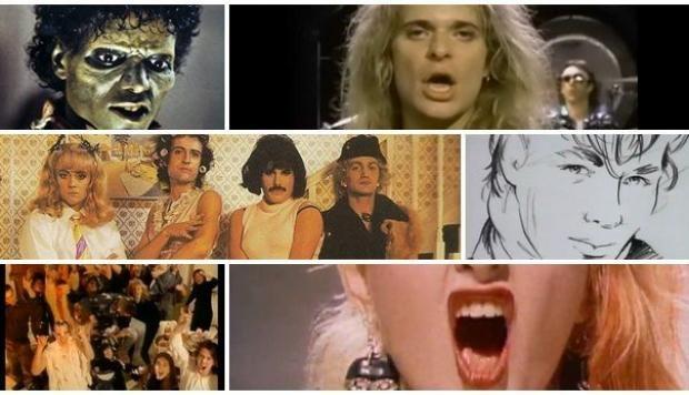 Diez videos musicales clásicos de los años 80