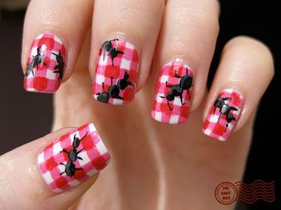 Easy Farm Animals Nail Art Designs Ideas 2013 2014 7 Easy Farm Animals Nail Art Designs & Ideas 2013/ 2014