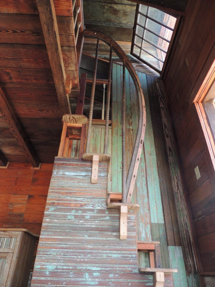 Amazing Salvaged Staircase By Tiny Texas Houses    Http://www.facebook