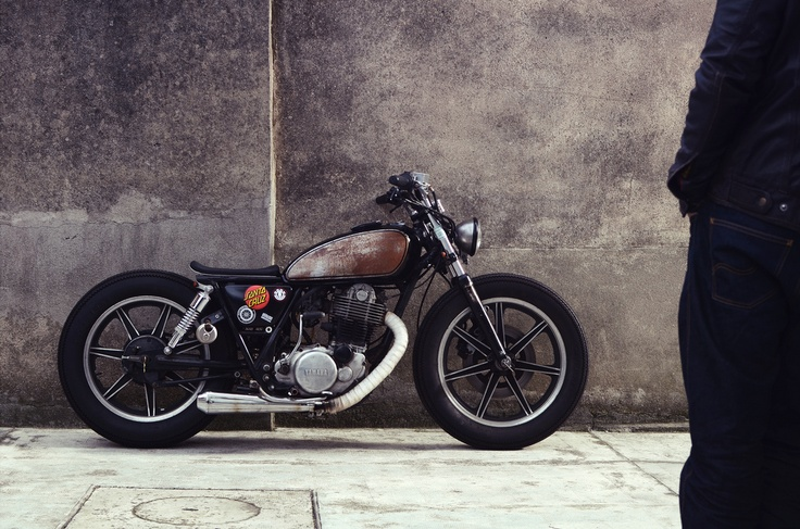 Yamaha SR 500 '82 by Philippe Lagente | France