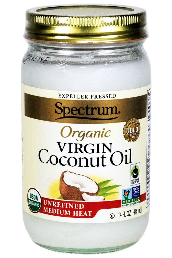 Spectrum coconut oil can be found in both food section and the beauty aisle, as...