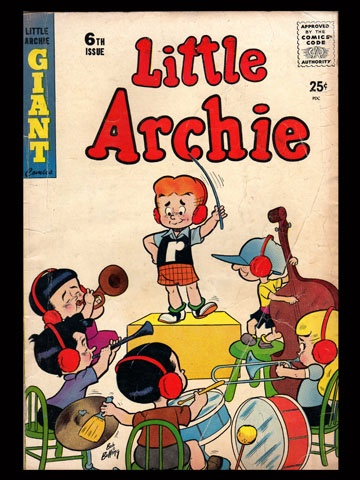 Little Archie #6  V1 Little Archie Giant Comics -- i loved little Archie as a kid. Always wanted more of him than of the teenage version..,