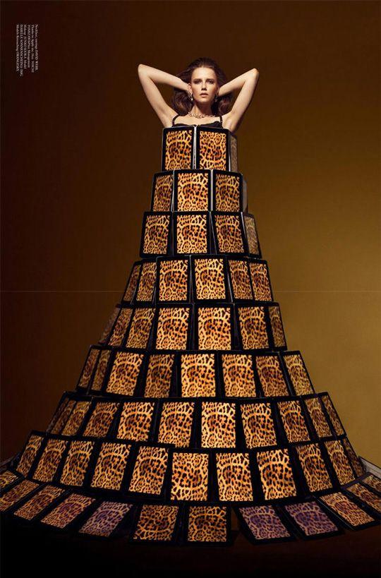 Dress made from iPad