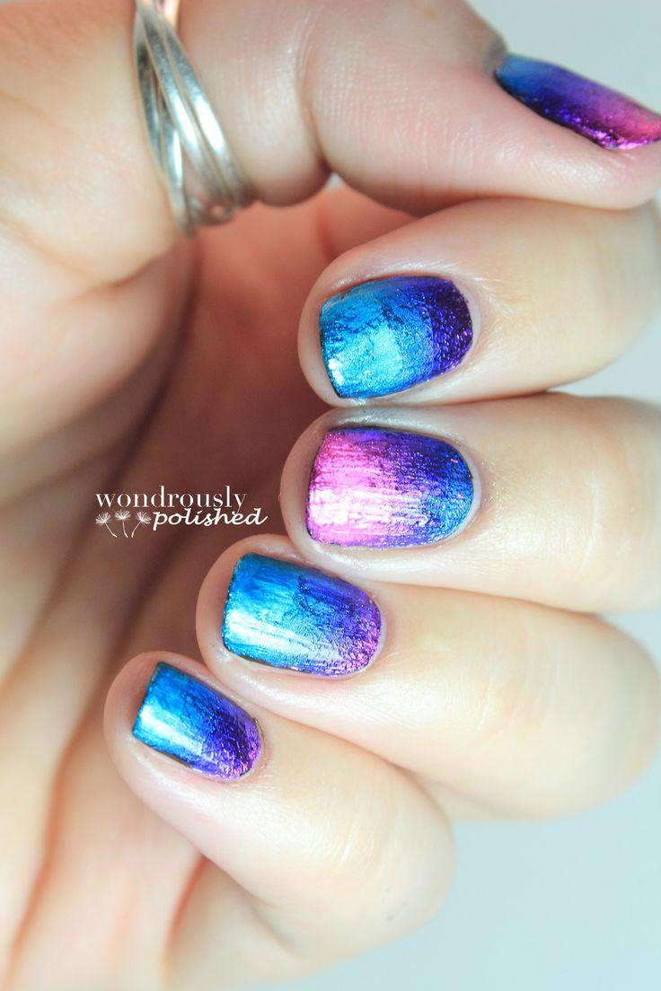 Best 25 foil nail designs ideas on pinterest foil nails foil foil nail design nailart prinsesfo Gallery