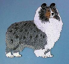 Blue Merle Embroidery Design Shelties Pinterest