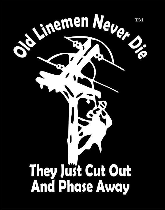 Lineman cut out and phase away