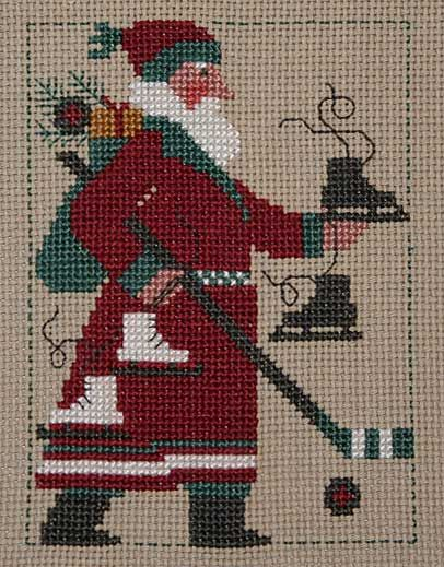cross stitch counted needlepoint christmasCrosses Stitches Pattern, 2009 Santa, Prairie Schoolers, Stitches Design, Schoolers Santa, Christmas Crosses Stitches, Christmas Ideas, 2009 Schoolers, Cross