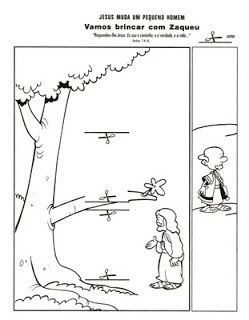 Zacchaeus craft