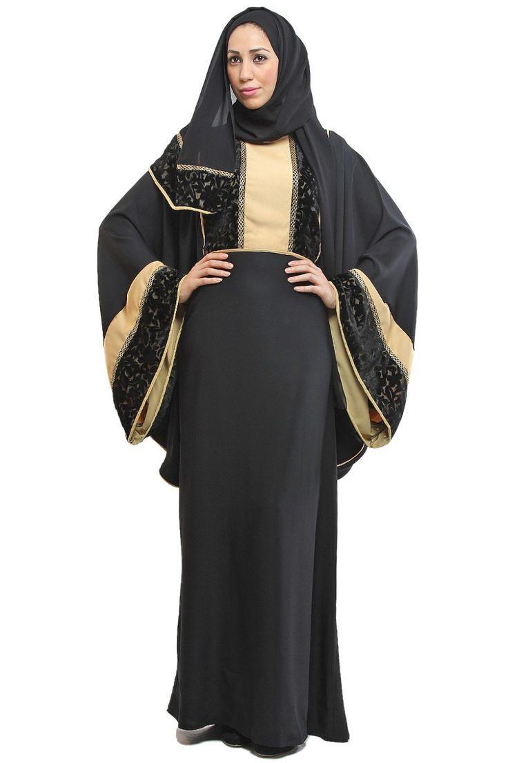 Abaya (العباءة, Outer Garment) and Shayla (الشيلة, Veil)