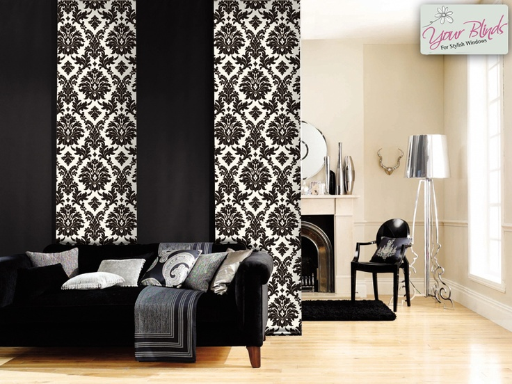 Beautiful Damask panels are very elegant. For client privacy