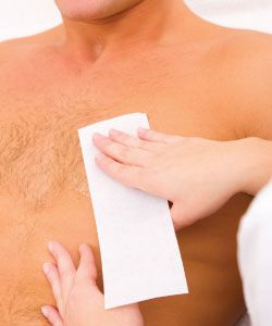 39% of all men manscape, with the majority being in their 20s and 30s. The most common area for hair removal in men is the groin, followed by the chest and underarms; underarms have emerged as the newest trend in male hair removal services. When adding male waxing services to the spa menu, it is important to invest in proper staff training and a wax formulated especially for men's strong hair growth and sensitive skin.