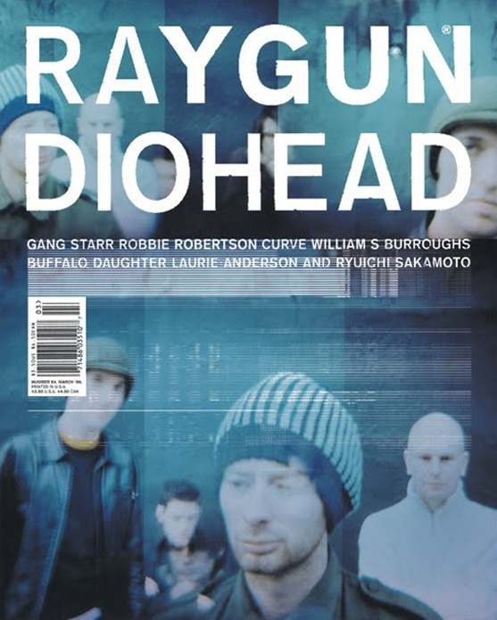 Raygun Magazine Art Directed by David Carson