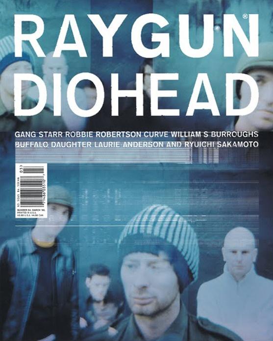 Raygun Magazine Art Directed by David Carson