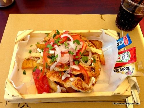 Local Fast Food @Platanias (Crete), Greece