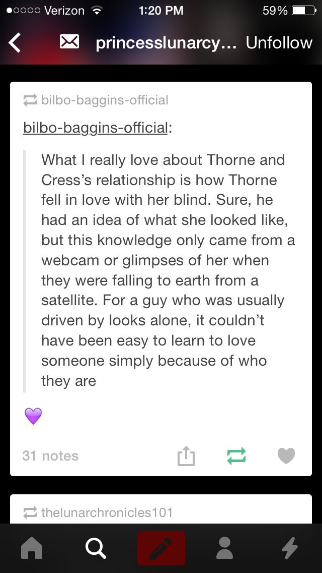 Cress and Thorne