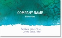 watercolor Premium Business Cards