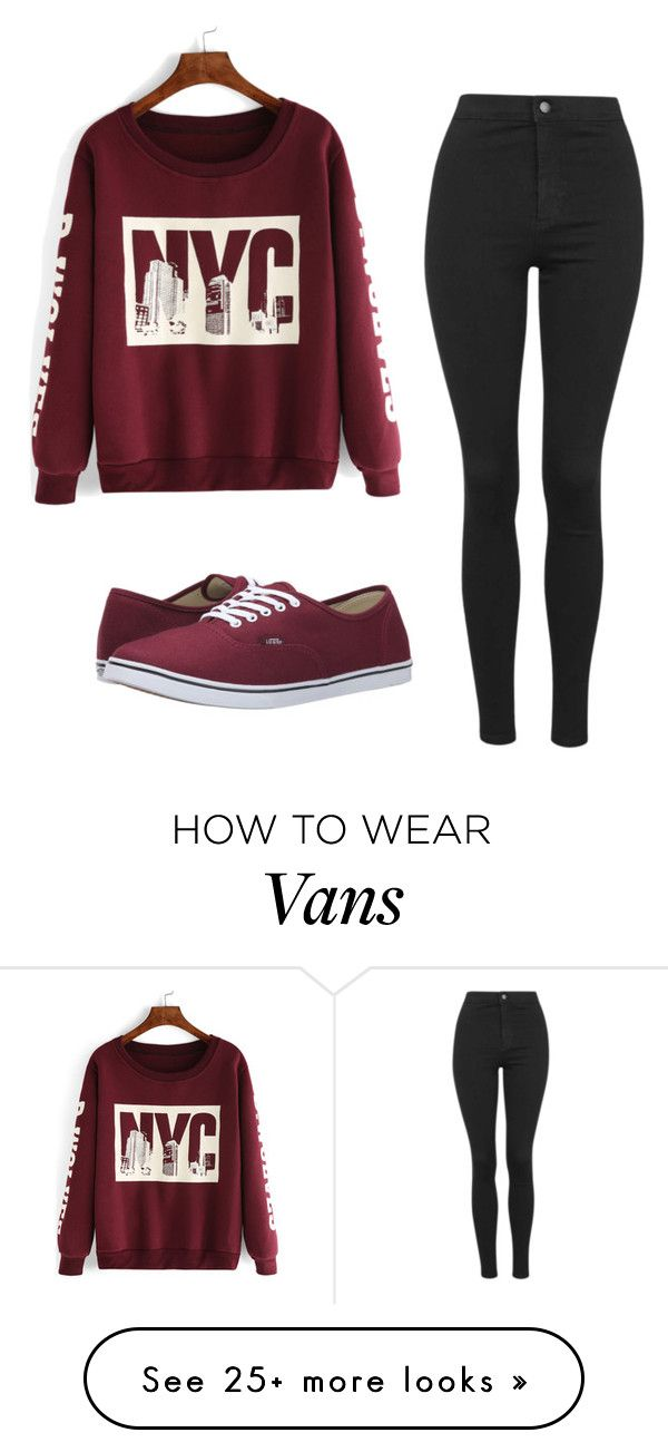 """""""Без названия #473"""" by mariami-princess2013 on Polyvore featuring Topshop, Vans, women's clothing, women, female, woman, misses and juniors"""