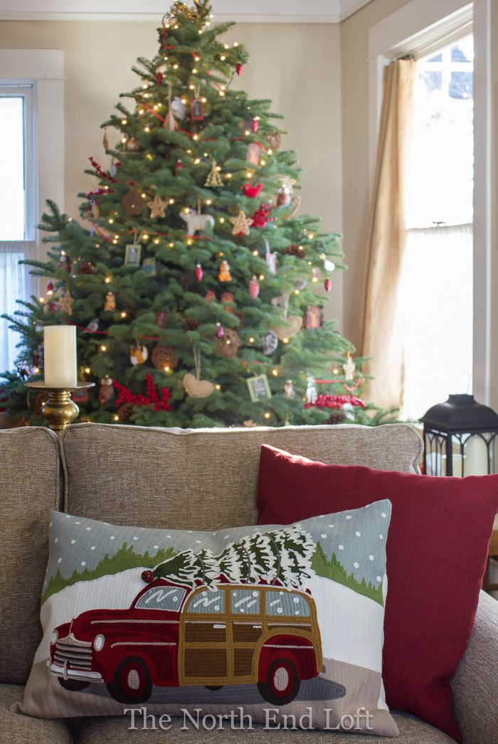 The North End Loft: Christmas In Our Living Room Part 72