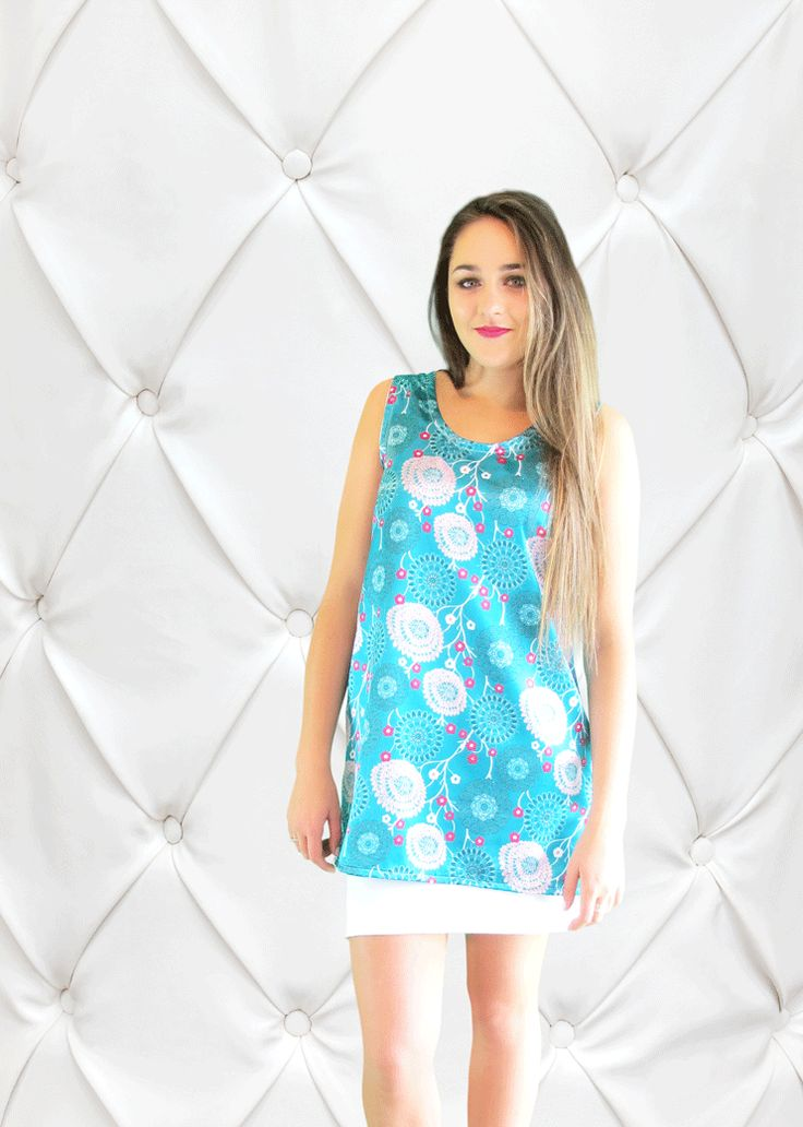 The Flossy Teal Tunic