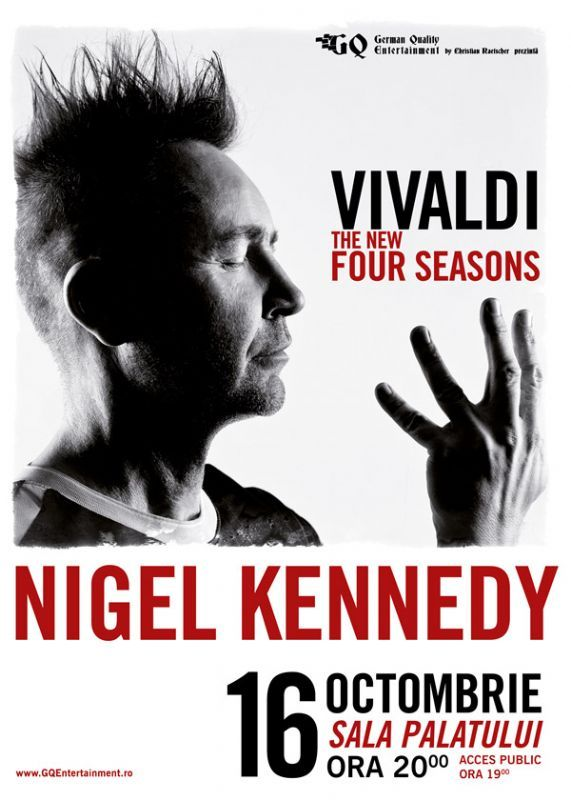 Nigel Kennedy - Vivaldi The New Four Sesons - 16 Oct 2016