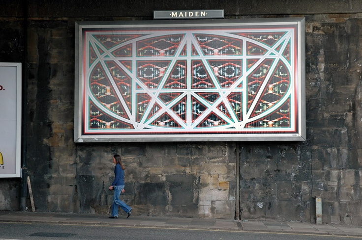 Urban sigil - Turner Prize nominee and artist Mark Titchner