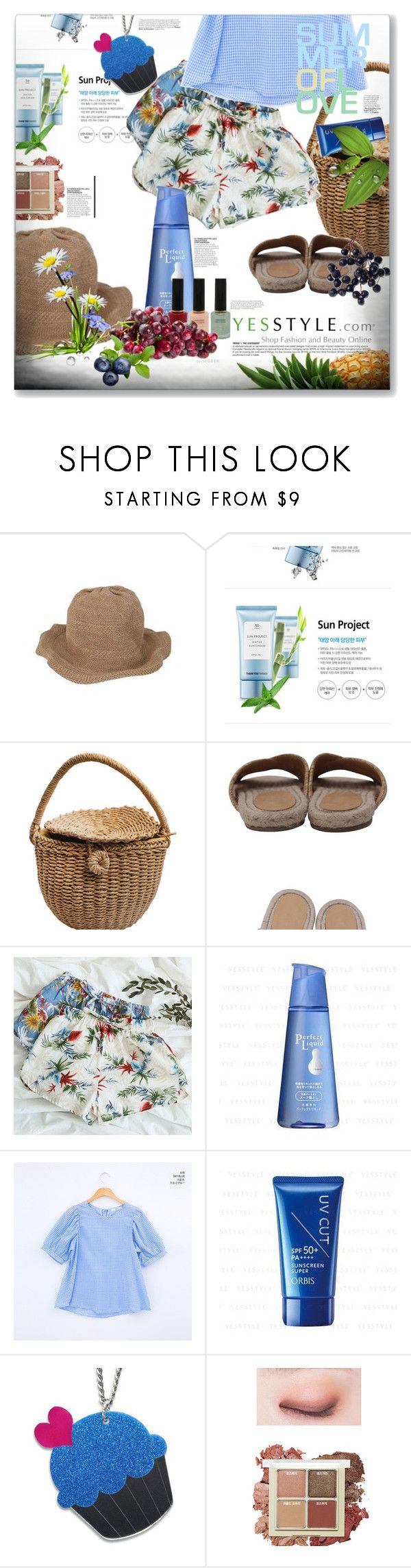 """""""Share your summer picnic outfit and WIN US$40 store coupons!"""" by anasko ❤ liked on Polyvore featuring DaBaGirl, Thank You Farmer, Goroke, Naning9, Shiseido, chuu, Sweet & Co. and Etude House"""