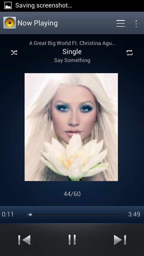 Say something * A great big world . This song breaks my heart every time i hear it.