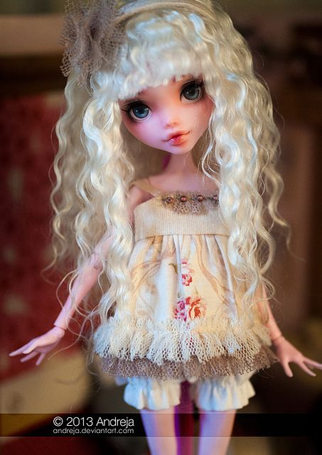 OOAK monster high doll - new obsession!!!