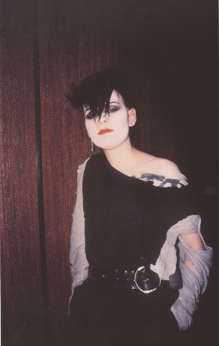 Derek Ridgers' London Youth, Tufty, Batcave, 1982