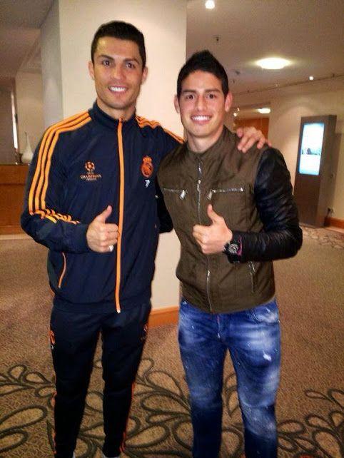 Ronaldo & James Rodrigues