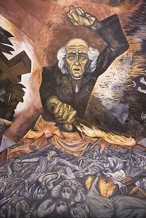 """""""er mundo de manué"""": JOSE CLEMENTE OROZCO, obras, murales, pinturas."""