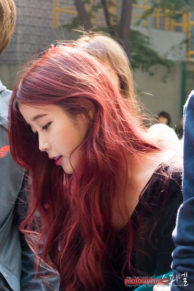 IU's hair