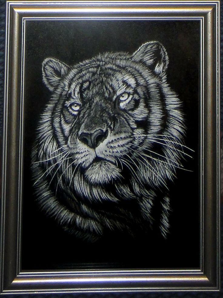 Ручная гравировка на стекле