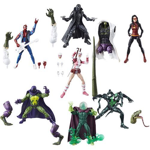 Amazing Spider-Man Marvel Legends Figures Wave 9 Case - Free Shipping  Amazing Spider-Man Marvel Legends action figures bring back generations of Spidey and his friends and foes in popular 6-inch scale. Each awesome figure includes terrific accessories and amazing detail, plus a build-a-figure piece! Ages 4 and up.    via @AnotherUniverse.com  https://anotheruniverse.com/amazing-spider-man-marvel-legends-figures-wave-9-case-free-shipping