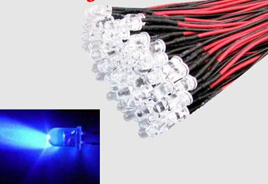 20 PCS LED 3mm Pre-Wired White Red Blue Green Yellow White RGB Pre wired 12V DC Light Bulb led lamp F3 Emitting Diodes DIY #Affiliate