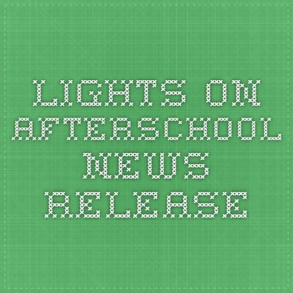 150 best Lights On Afterschool images on Pinterest Healthy - new letter format to city mayor