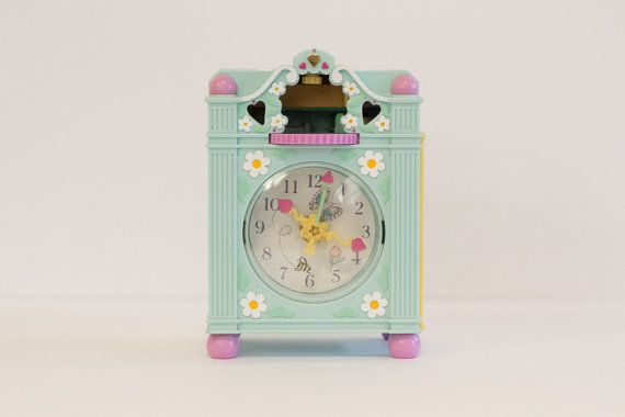 1991 Vintage Polly Pocket  Funtime Clock by southallsvintage